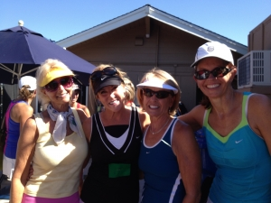 Team Tennis-4 ladies